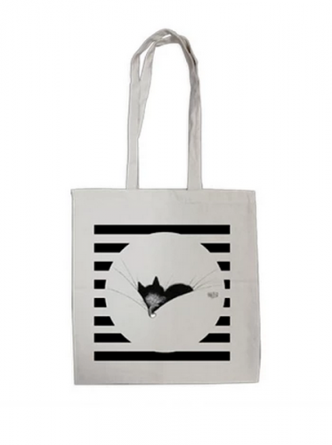 Tote bag chat gros dodo Dubout