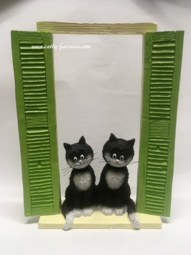 Figurines chats Dubout
